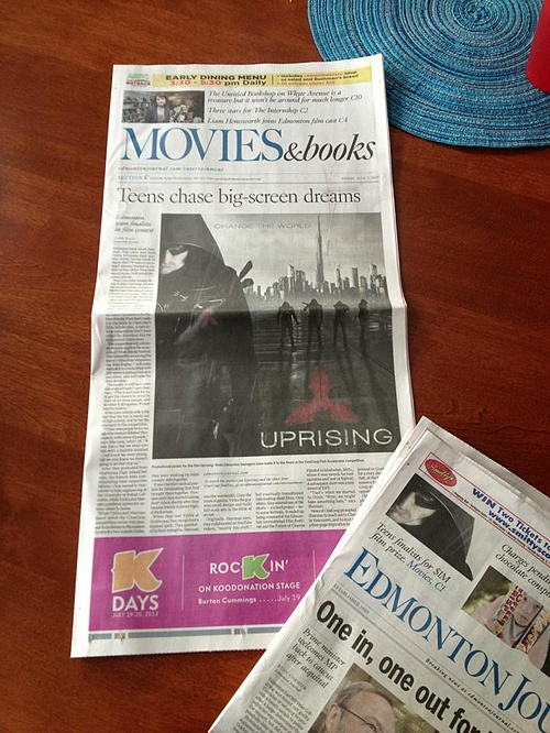 Uprising - Edmonton Journal!