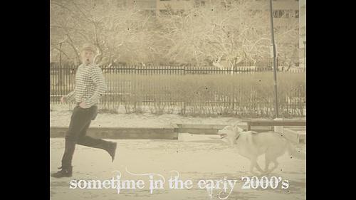 Adam on a jog...