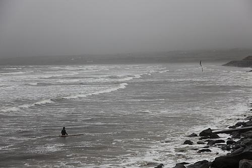 Surfing in Lahinch, Ireland. #ThirdWaveFilm