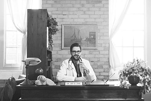 Dr. Art D. Zine ponders Production Design