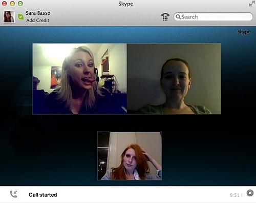 Skype Production Meetings