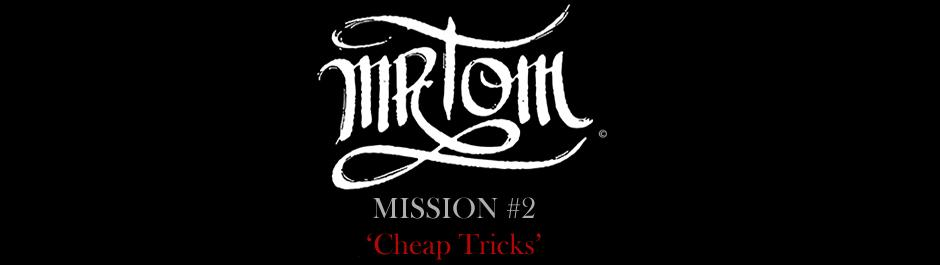 Mr. Tom Cheap Tricks Cover Image