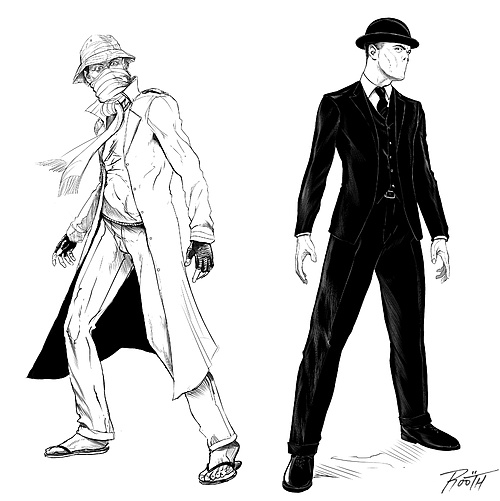 Mr. Tom Concept Art