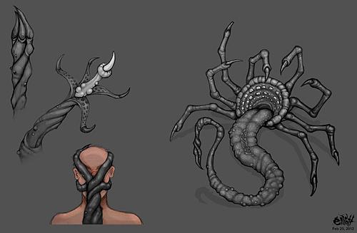 'Gateway' Creature Concept Art
