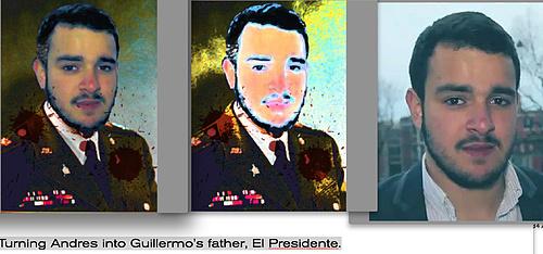 Making a presidential portrait