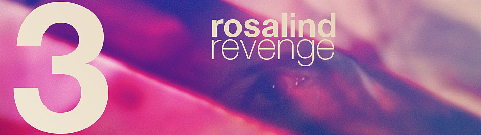Rosalind Revenge Off The Wall Cover Image