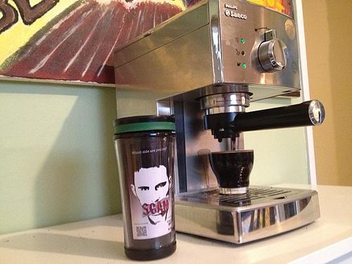 SCAM coffee mug