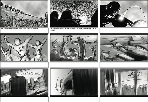 Storyboards (Artist: Andrew Dodd)