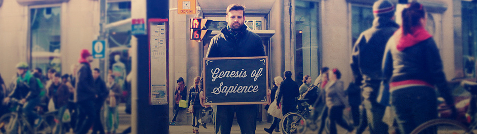 Sapience: The Search for Wisdom Genesis Cover Image