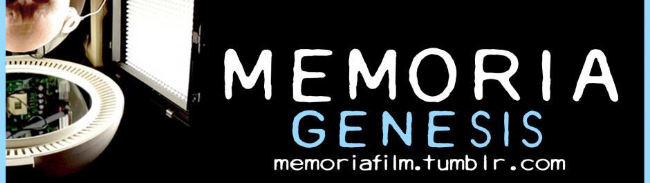 Memoria Genesis Cover Image