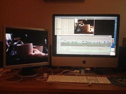 Memoria in the edit room