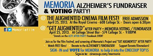 Memoria Event - April 25 - Royal Cinema