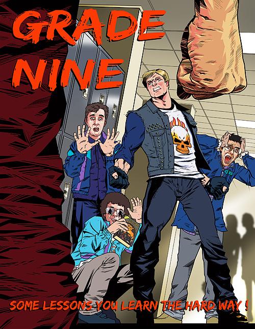 Grade Nine - The Graphic Novel