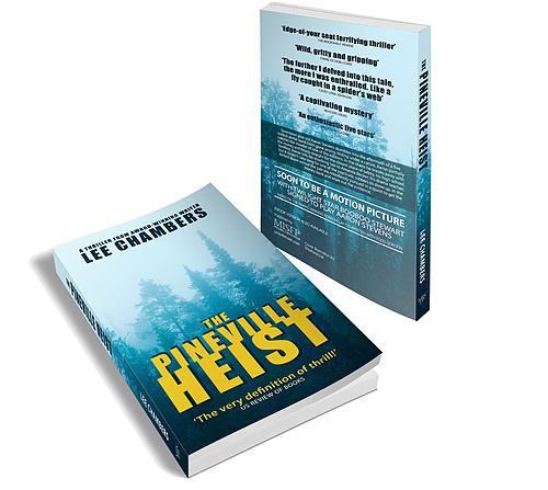 The Pineville Heist: In print.