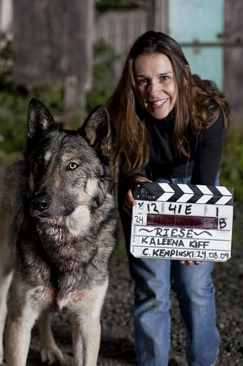 Producer Kaleena Kiff
