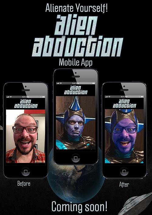 The Alien Abduction Mobile App!