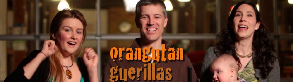 Orangutan Guerillas The Pitch Cover Image