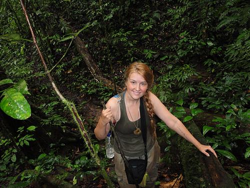 Emily Hunter, West Kalimantan, Indonesia