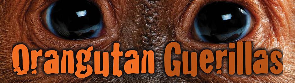 Orangutan Guerillas Off The Wall Cover Image