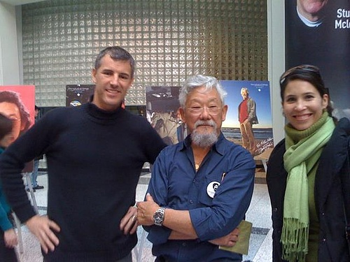 Meeting David Suzuki