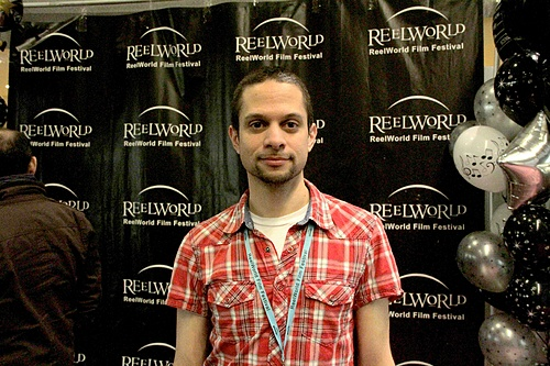 Richard B. Pierre @ the ReelWorld Film Festival