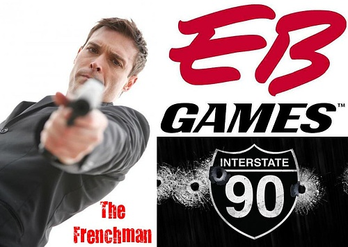 The Frenchman plays daily in all EB Games Stores