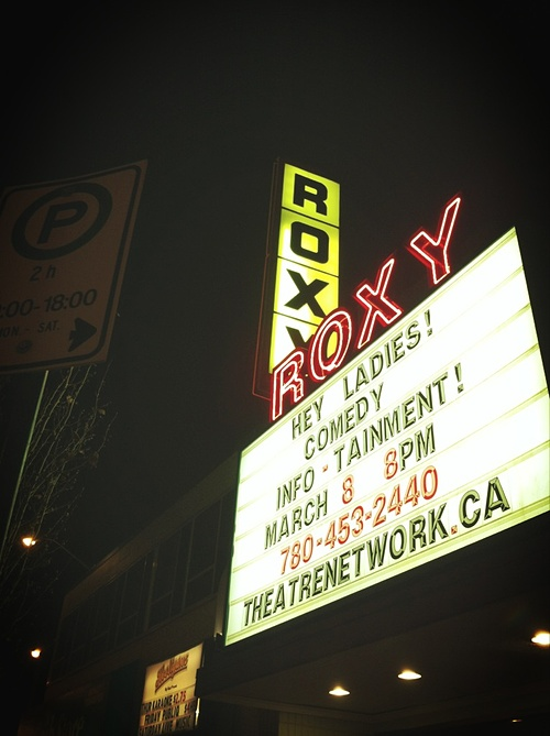 LIVE from the ROXY THEATRE!