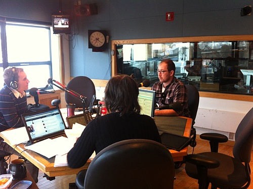 Kris on CBC Radio One Information Morning