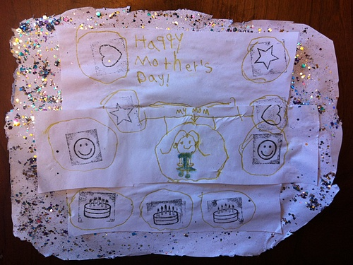 Mattie's Mother's Day Drawing from Marc