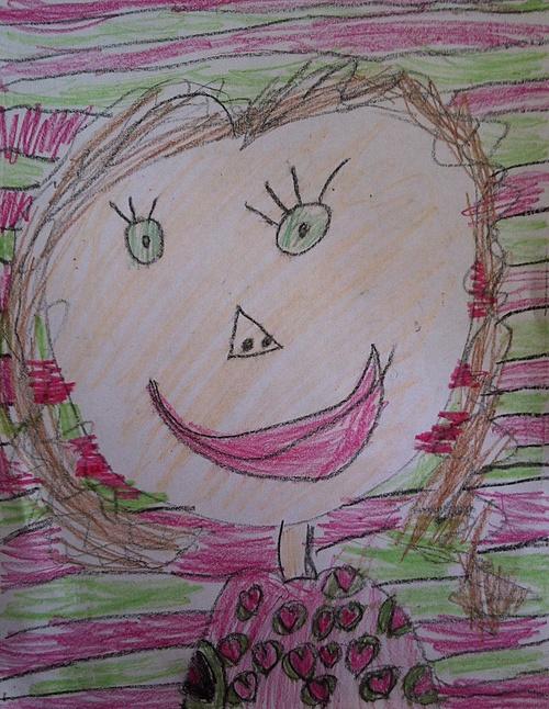 Marc's Drawing of Mattie