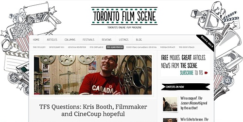 Toronto Film Scene Questions Director Kris Booth