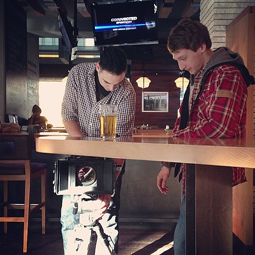 Behind the Scenes - Table Tops