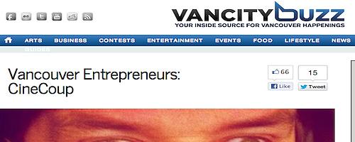 VancityBuzz - Vancouver Entrepreneurs
