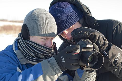 Filming in -42 Windchills