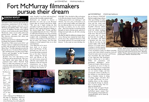 Fort McMurray filmmakers pursue their dream