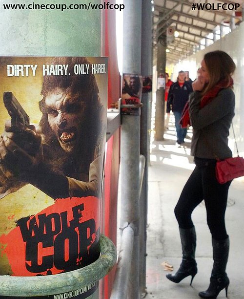 Spreading the word about WolfCop