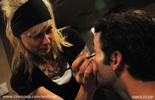 Elly Allen, Makeup