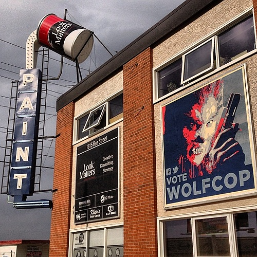 WolfCop: Billboard #1
