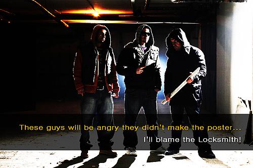 The danger of hiring thugs!