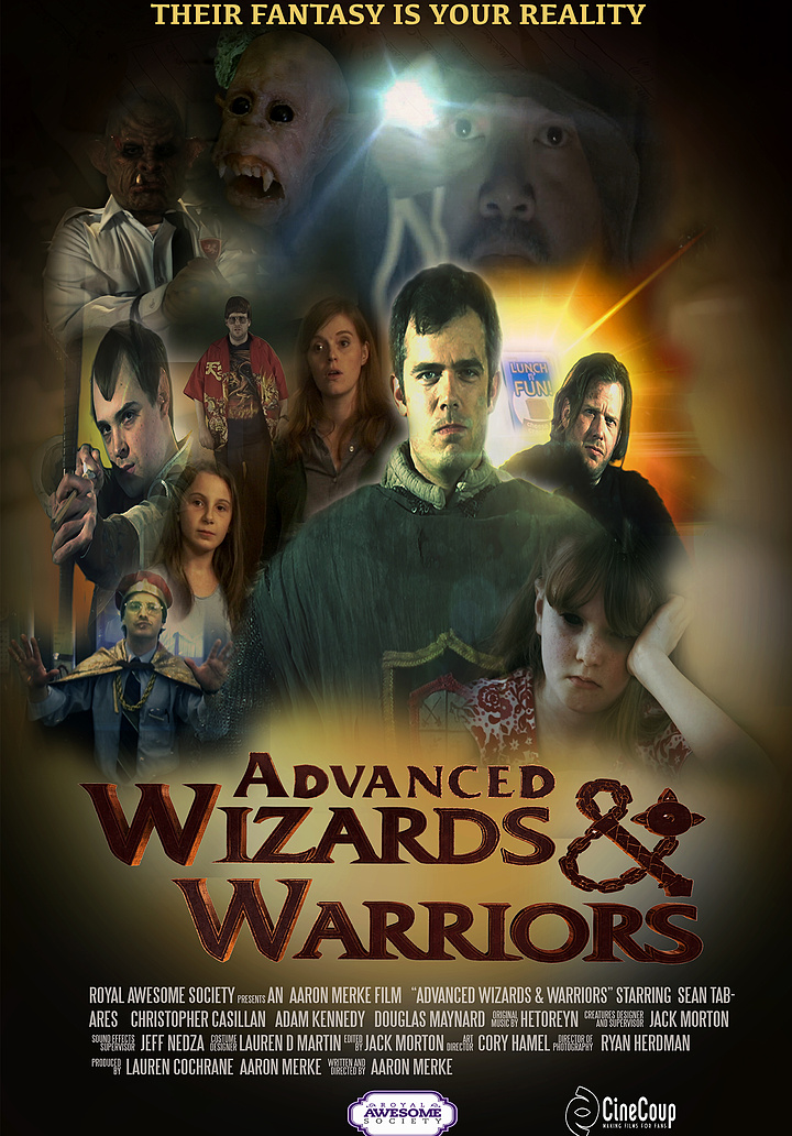 Mission #3: The Poster A - Advanced Wizards And Warriors