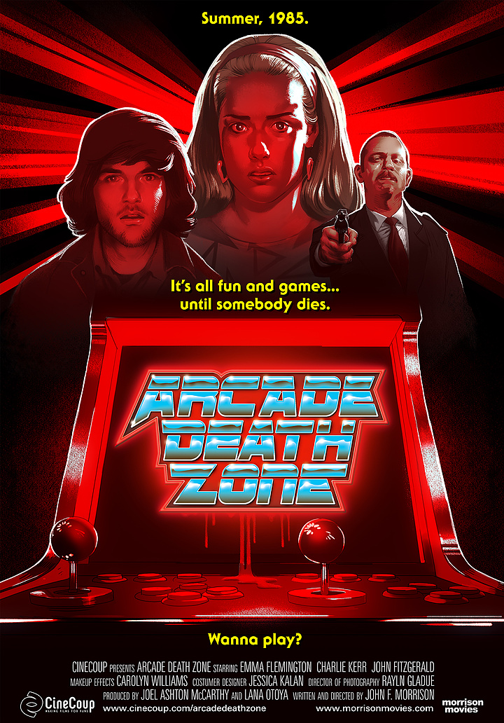 Mission #3: The Poster A - Arcade Death Zone