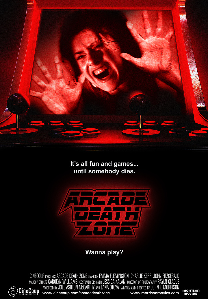 Mission #3: The Poster B - Arcade Death Zone