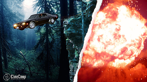 Action scenes: One scene features a Trans-Am crashing off a cliff into the woods. And what '80s-style adventure would be complete without a massive explosion at the end? These scenes may be executed in full scale or miniature, but you can be sure there'll be no C.G.