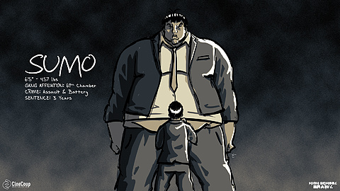 SUMO: The biggest Asian you've ever seen, the biggest anything you've ever seen, and a member of the notorious 69th Chamber gang. He's one of the many villains Chester and his crew will face this semester at the Noble Academy.
